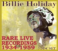 Cover of Rare Live Recordings 1934-1959, CD 2/5