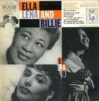Cover of Ella, Lena And Billie