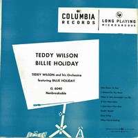 Cover of Teddy Wilson And His Orchestra Featuring Billie Holiday
