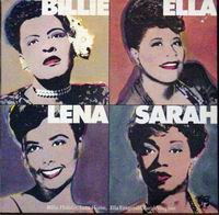 Cover of Billie, Ella, Lena, Sarah!