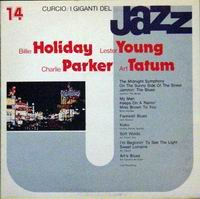 Cover of I Giganti Del Jazz: Holiday, Young, Parker, Tatem