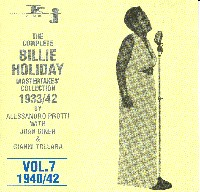 Cover of Complete Billie Holiday Mastertakes Collection 1933-1942 Vol. 7
