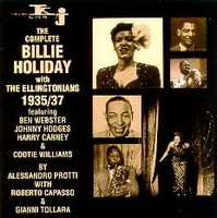 Cover of The Complete Billie Holiday With The Ellingtonians 1935 - 1937