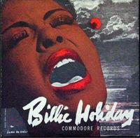 Cover of Billie Holiday - Commodore Records