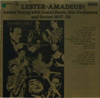 Cover of Lester Young:  Lester- Amadeus