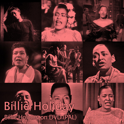 Cover of Billie Holiday on DVD (PAL)