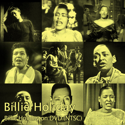 Cover of Billie Holiday on DVD (NTSC)